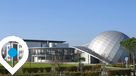 Campus d'Agen site Michel Serres © Université de Bordeaux